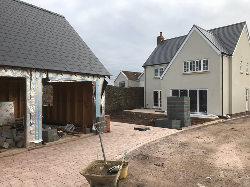 Frampton Cotterall new build